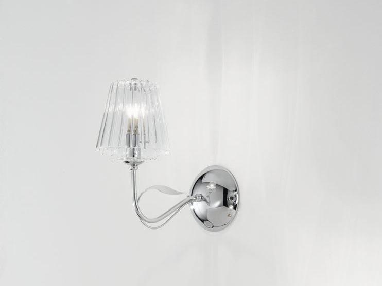 Wall light with Swarovski® crystals CHLOÈ | Wall light - IDL EXPORT