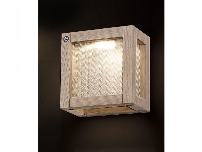 Oak wall light WOODY | Wall light by IDL EXPORT