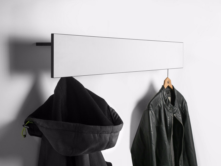 Wall-mounted HPL coat rack Wall-mounted coat rack - conmoto by Lions at Work