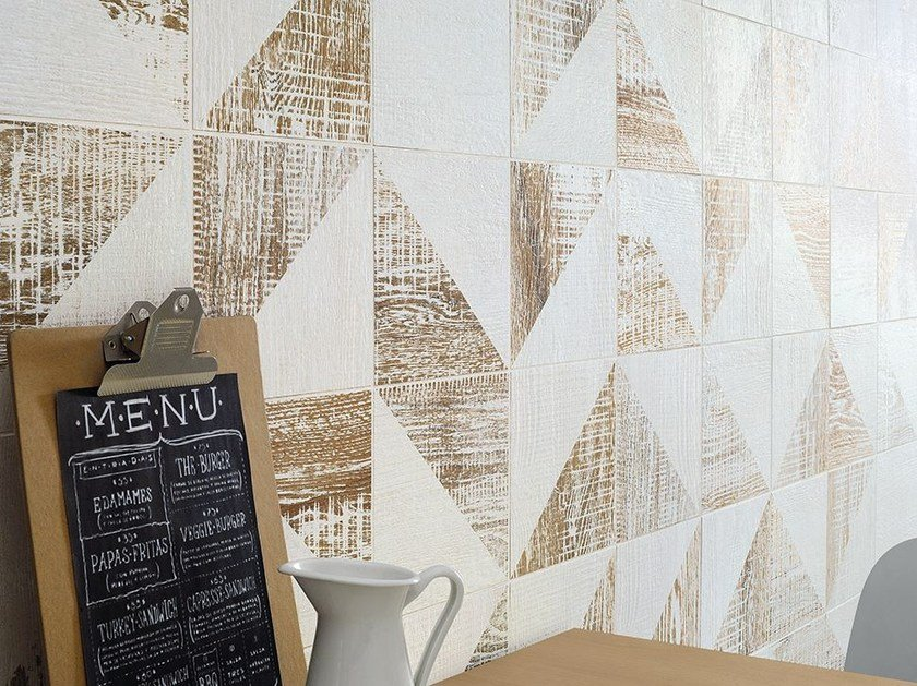 Porcelain stoneware wall tiles with wood effect DEKAP | Wall tiles by Ceramica Fioranese
