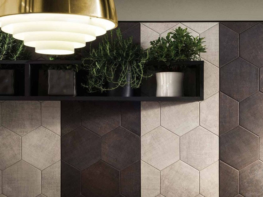Indoor ceramic wall tiles TEXTILE | Wall tiles - Ceramiche Marca Corona
