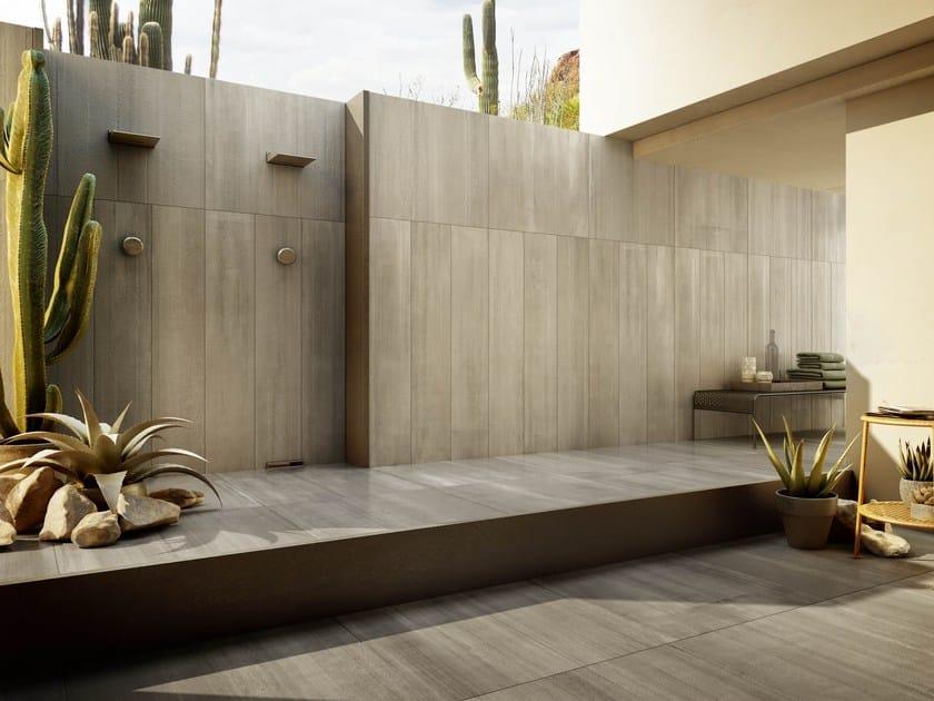 Porcelain stoneware wall tiles ARIZONA CONCRETE by Iris Ceramica