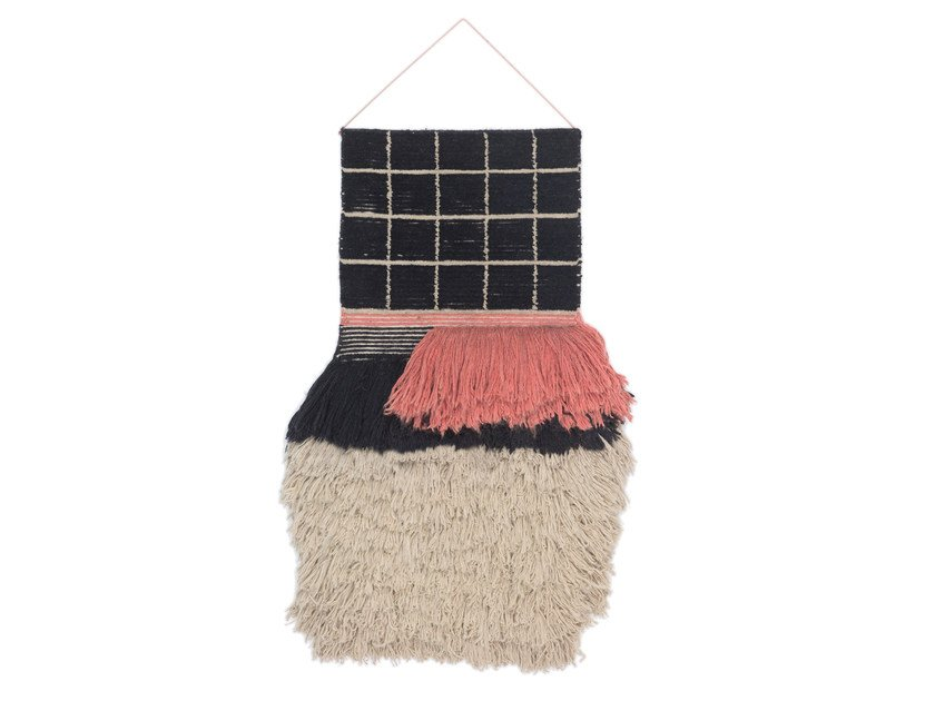 Wool Tapestry WALLHANGING QUADRO CELESTE #671 - cc-tapis ®