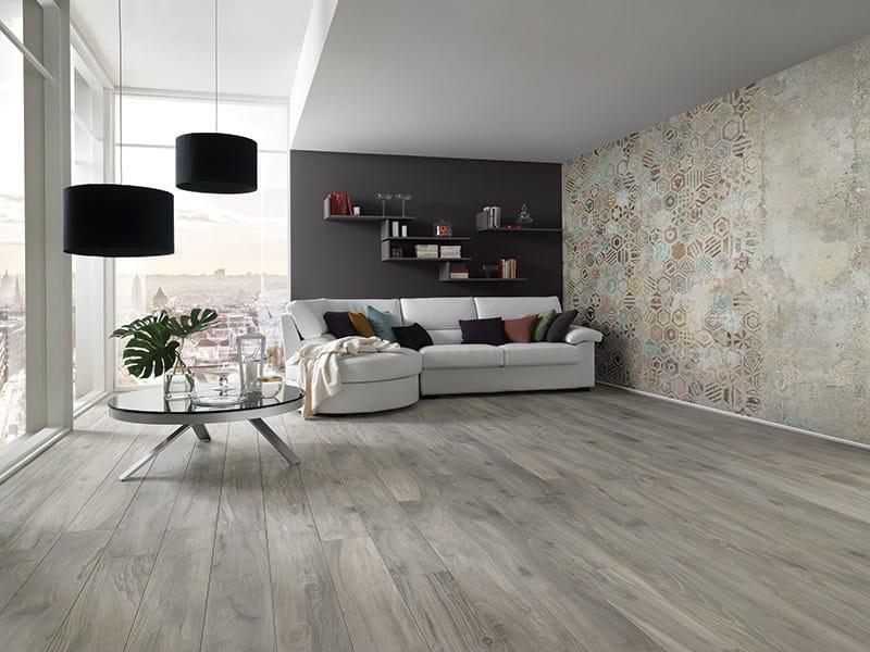 Motif nonwoven wallpaper WALLPAPER NATURAL MATERA - AVA Ceramica by La Fabbrica