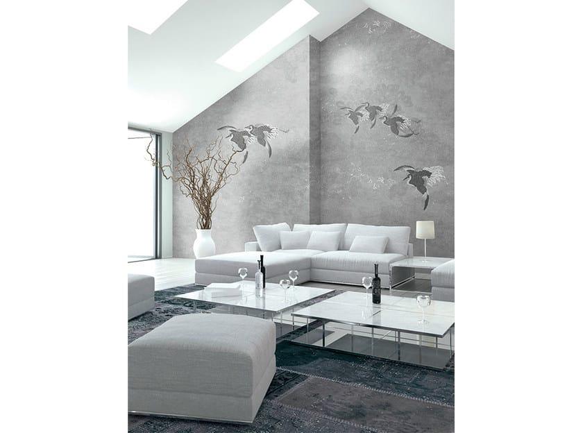 papier peint motifs panoramique en tissu non tiss wallpaper pearl aironi collection wallpaper. Black Bedroom Furniture Sets. Home Design Ideas