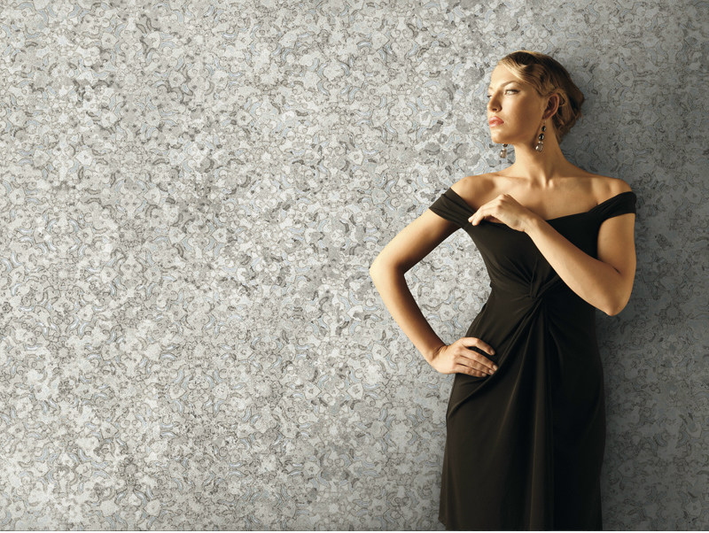 Motif panoramic nonwoven wallpaper WALLPAPER PEARL FANTASY - AVA Ceramica by La Fabbrica