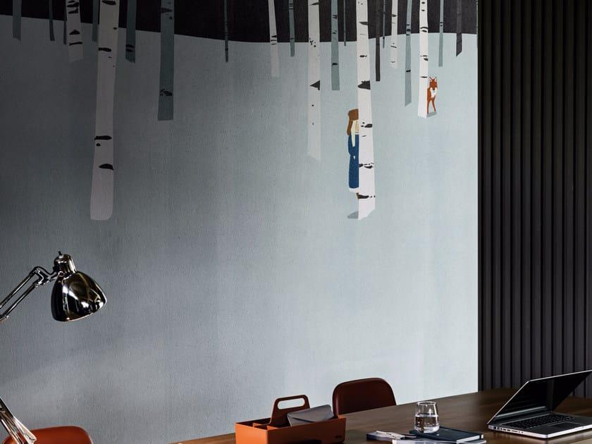 Motif wallpaper CACHE CACHE - Wall&decò