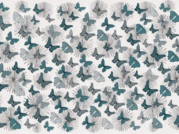 Motif wallpaper BUTTERFLY - Wallpepper