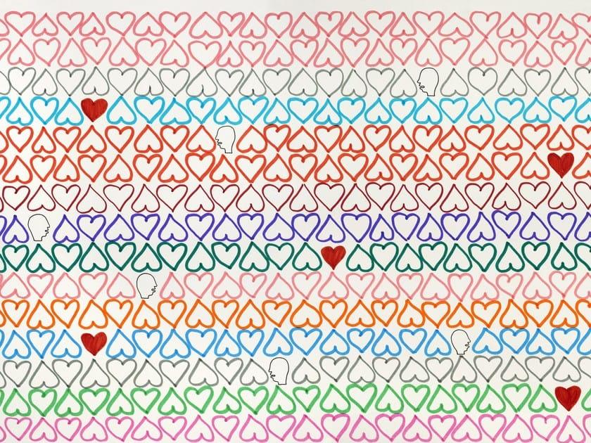 Motif wallpaper HEAD & LOVE - Wallpepper