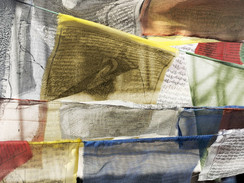 Wallpaper PREGHIERE TIBETANE - Wallpepper
