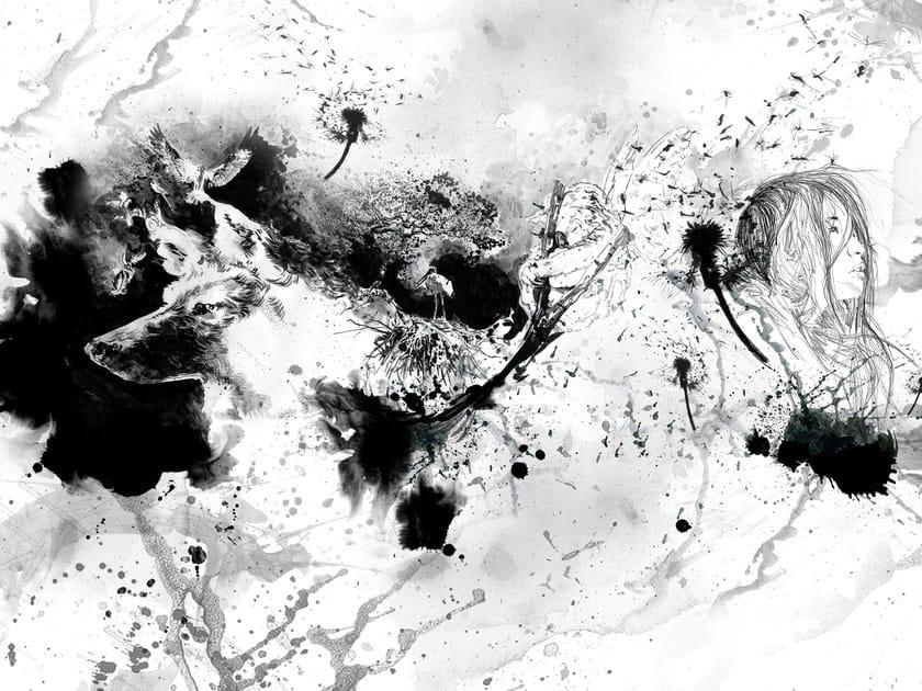 Wallpaper BLACK 01 - Wallpepper