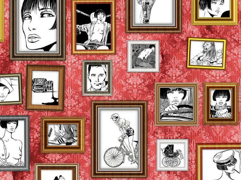 Wallpaper RITRATTI DI VALENTINA - Wallpepper