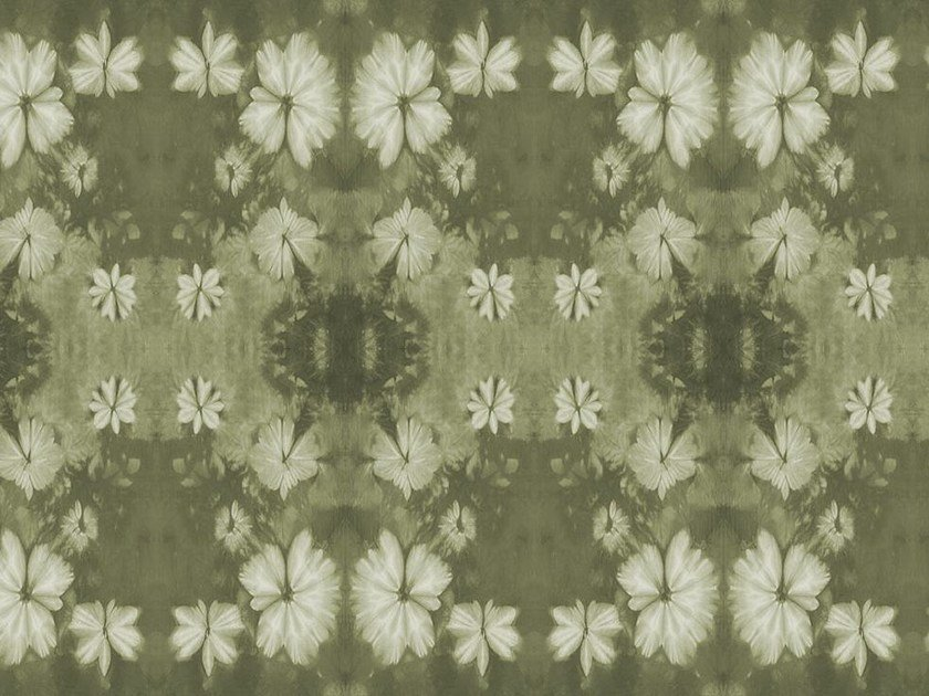 Wallpaper with floral pattern LABIRINT by Wallpepper