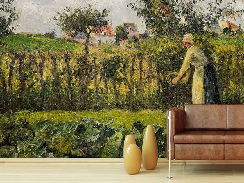 Landscape wallpaper IL TAGLIO DELLA SIEPE by Wallpepper