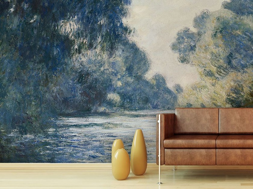 Trompe l'oeil wallpaper LA SENNA PRESSO GIVERNY - Wallpepper