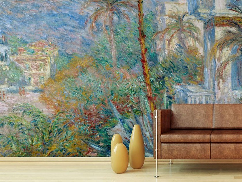 Wallpaper LES VILLAS A BORDIGHERA EN 1884 by Wallpepper