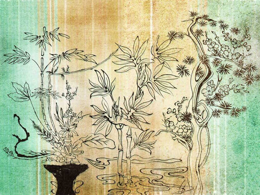 Wallpaper RICE PAPER by Wallpepper