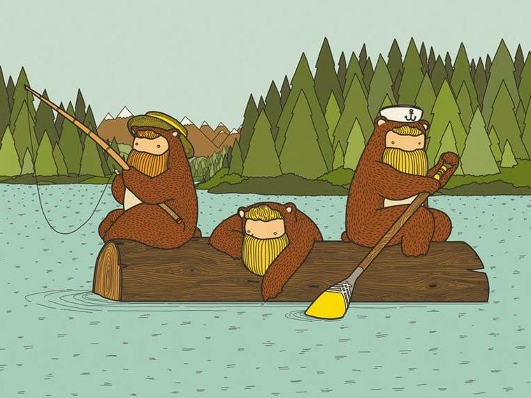 Carta da parati per bambini greetings from alaska wallpepper for Piani domestici sostenibili