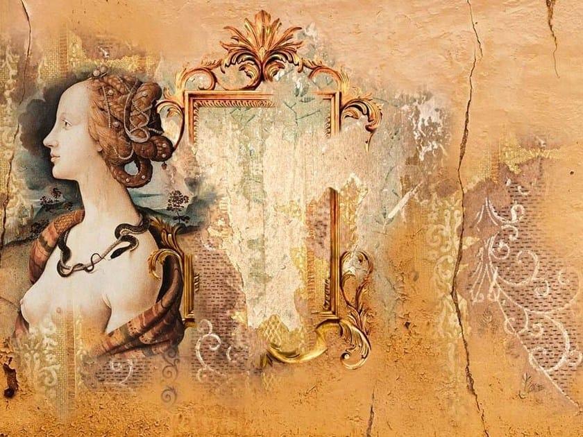 Wallpaper DAMA CON SPECCHIO - Wallpepper