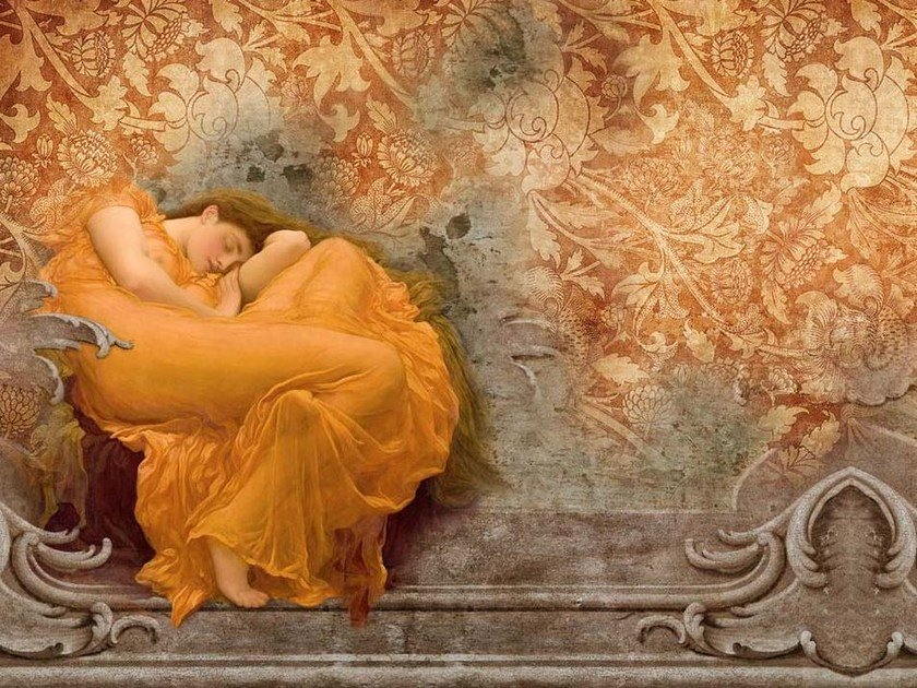 Wallpaper NINFA DORMIENTE - Wallpepper