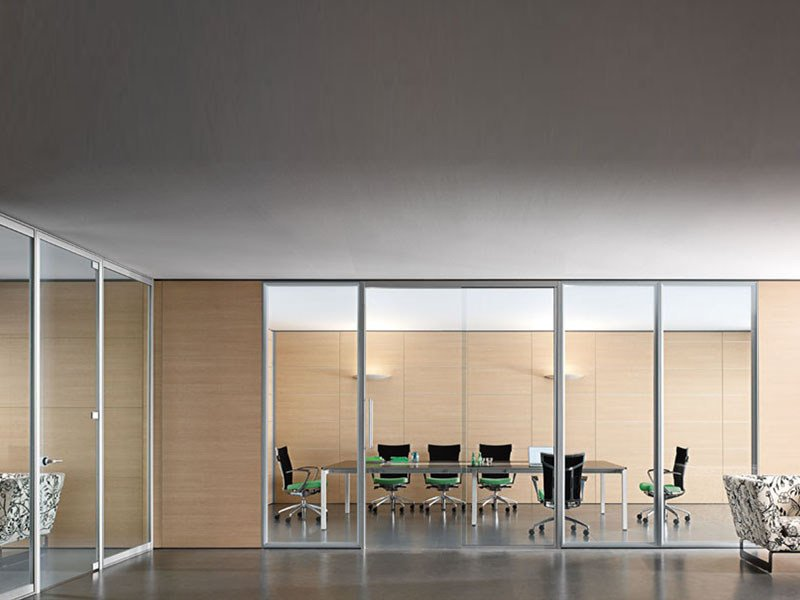 Acoustic office partition WALLTECH by ESTEL GROUP