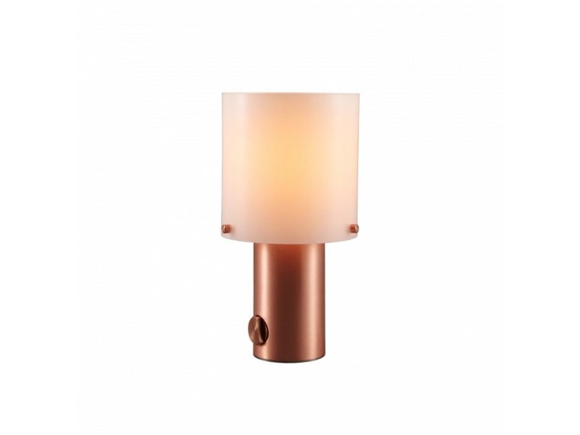 Opal glass table lamp with dimmer WALTER | Opal glass table lamp - Original BTC