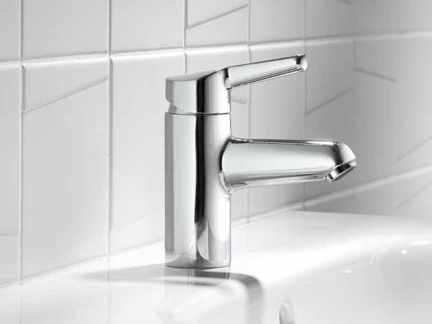 Countertop 1 hole washbasin mixer KWC WAMAS | Washbasin mixer by KWC