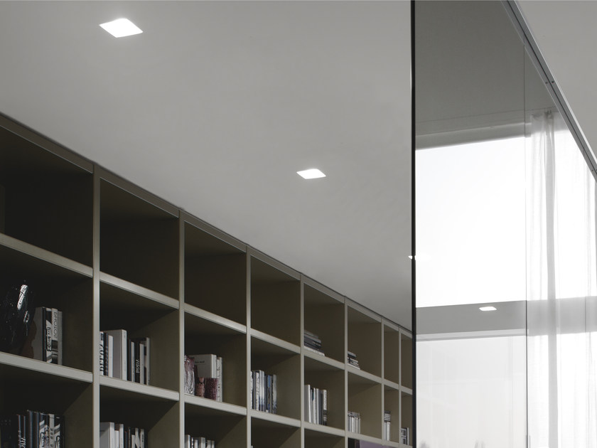 LED adjustable recessed aluminium spotlight WANTED | Spotlight - GLIP by S.I.L.E