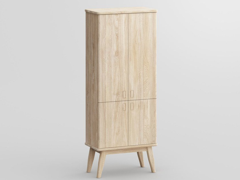 Solid wood wardrobe AETAS SPACE | Wardrobe - vitamin design