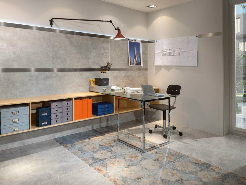 Indoor porcelain stoneware wall/floor tiles WAREHOUSE - Villeroy & Boch Fliesen