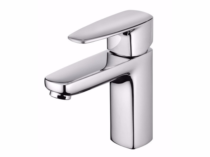 Countertop single handle chromed brass washbasin mixer PAN II | Washbasin mixer - JUSTIME