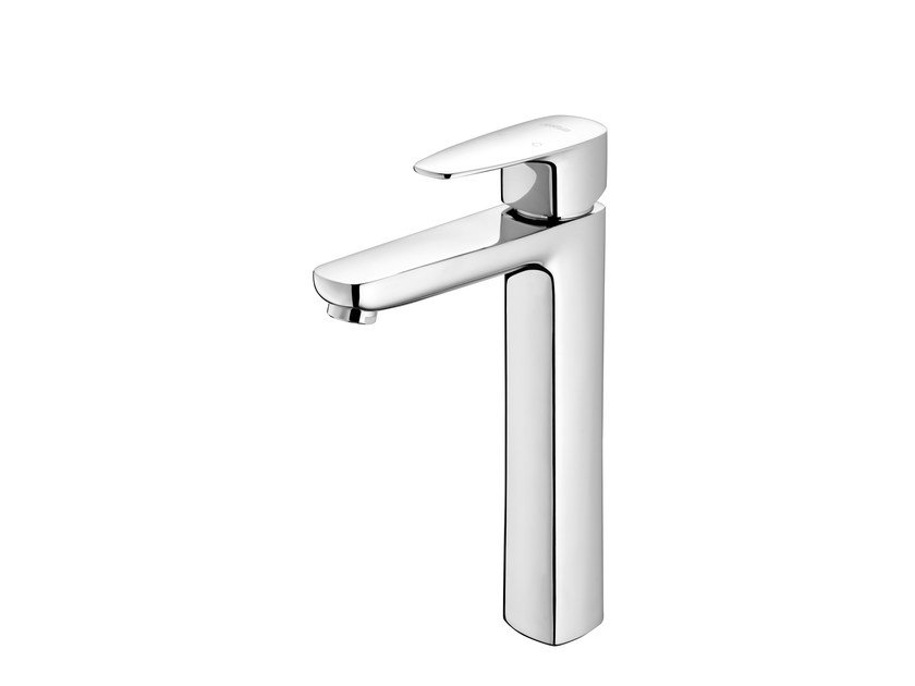 Countertop single handle chromed brass washbasin mixer PAN II | Washbasin mixer by JUSTIME