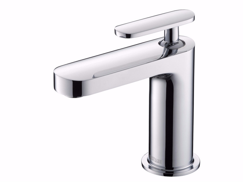 Countertop single handle chromed brass washbasin mixer CHARMING PLUS | Washbasin mixer - JUSTIME