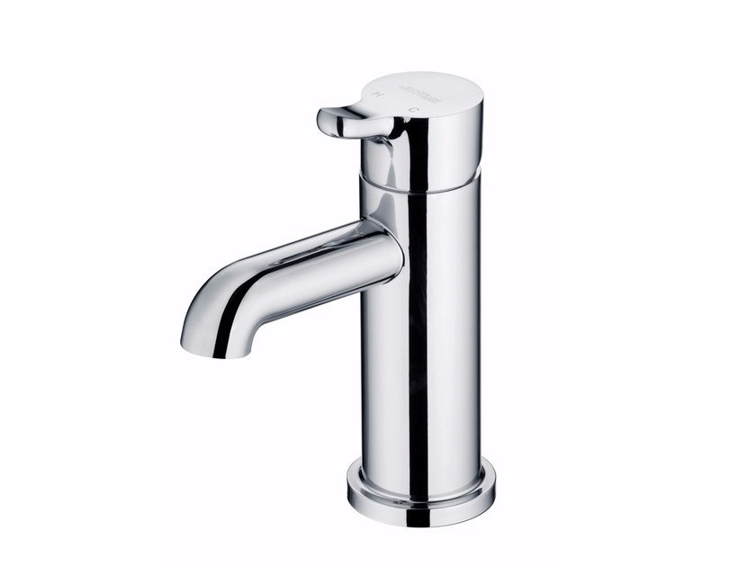 Countertop single handle 1 hole chromed brass washbasin mixer SWEET | Washbasin mixer - JUSTIME