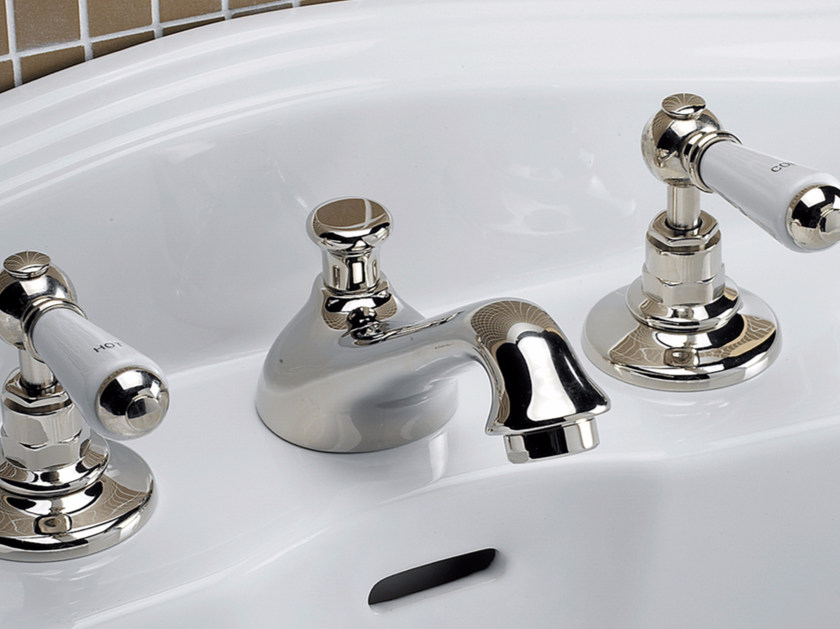 3 hole countertop washbasin tap DANDY | Washbasin tap - Devon&Devon