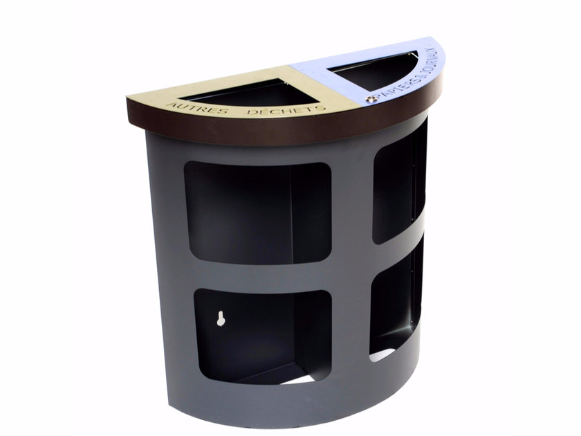 Waste bin for waste sorting METRO' by LAB23