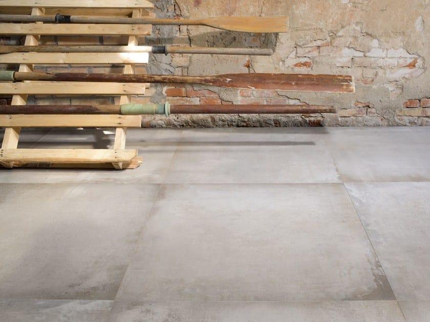 Porcelain stoneware flooring with concrete effect WATERFRONT - Cooperativa Ceramica d'Imola S.c.