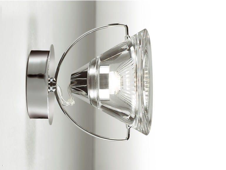 Adjustable crystal spotlight WEDGE 1 L - LUCENTE - Gruppo Rostirolla