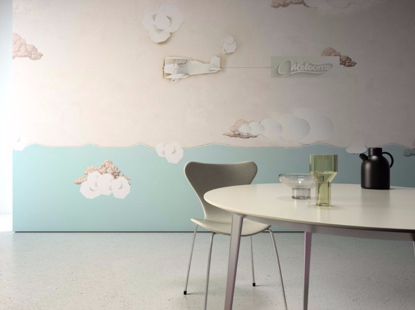 Washable vinyl wallpaper WELCOME - GLAMORA