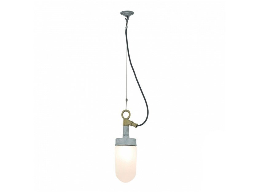 Frosted glass pendant lamp with dimmer WELL GLASS 7679 | Frosted glass pendant lamp - Original BTC