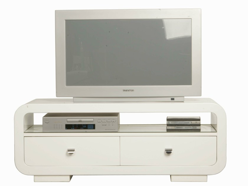MDF TV cabinet WHITE CLUB | MDF TV cabinet - KARE-DESIGN