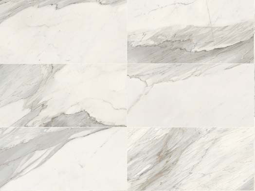 Full-body porcelain stoneware wall tiles / flooring WHITE EXPERIENCE Apuano by Italgraniti