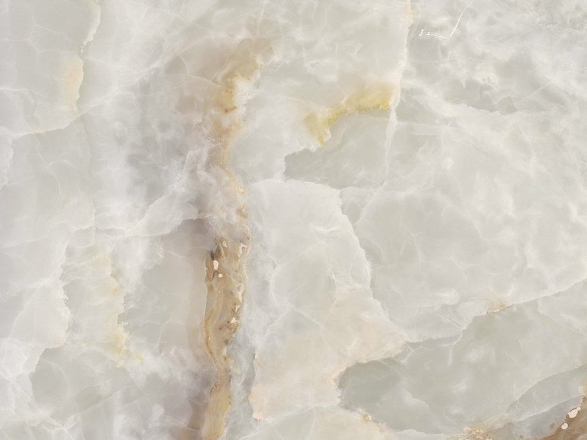 Porcelain stoneware wall/floor tiles WHITE ONYX - GranitiFiandre