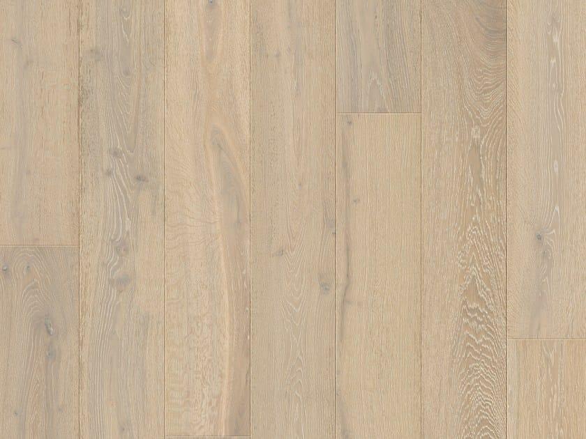 Brushed oak parquet WHITEWASHED OAK by Pergo