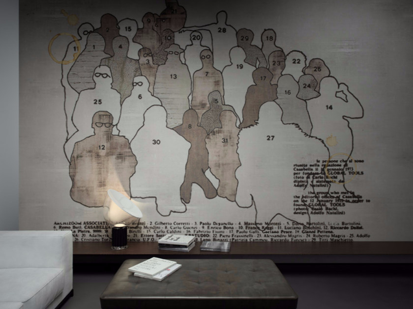 Washable vinyl wallpaper WHO - GLAMORA