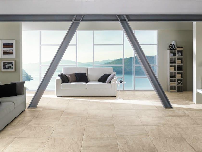 Porcelain stoneware flooring with stone effect WILD LION - La Fabbrica