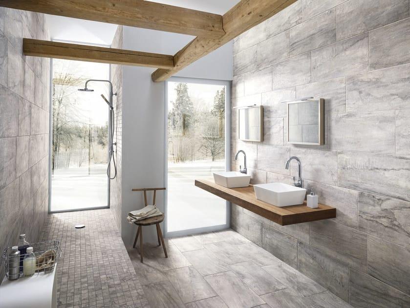 Porcelain stoneware flooring with stone effect WILD RHINO - La Fabbrica