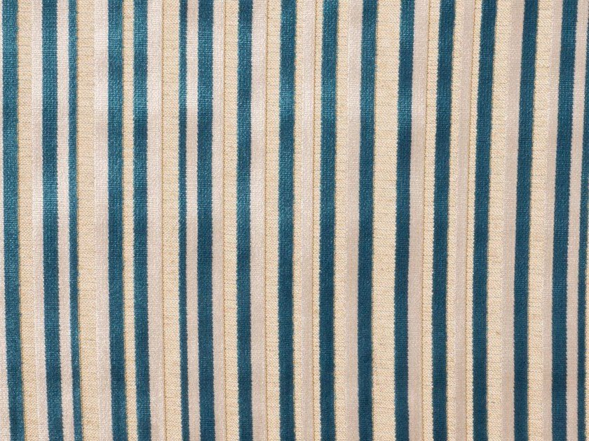Striped viscose upholstery fabric WIMBLEDON by Gancedo