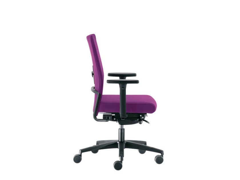 Swivel task chair with casters WIN-S SLIM | Task chair by Sesta