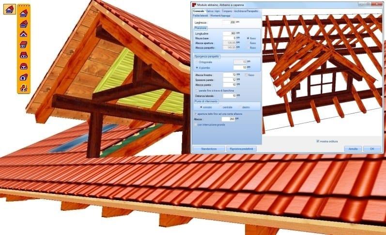 Progettazione tetti in legno woodcon a tetti in legno for Software di progettazione di case di base